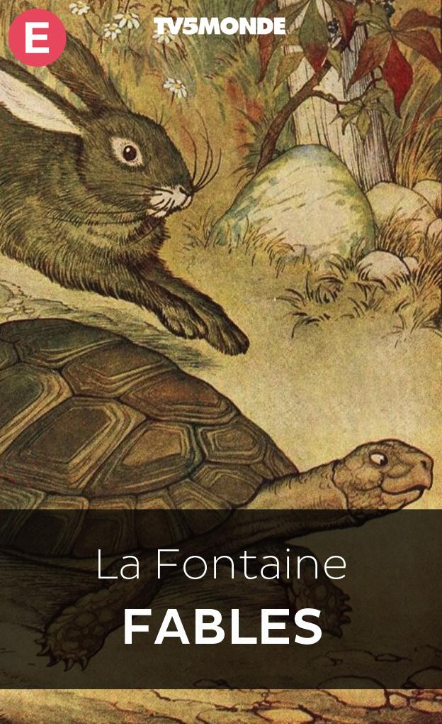 Les fables de la fontaine biblioth que numerique tv5monde - Dessin du lievre et de la tortue ...